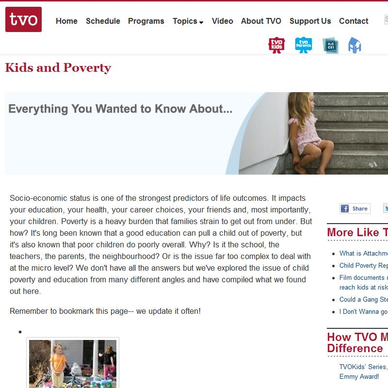 Kids and Poverty