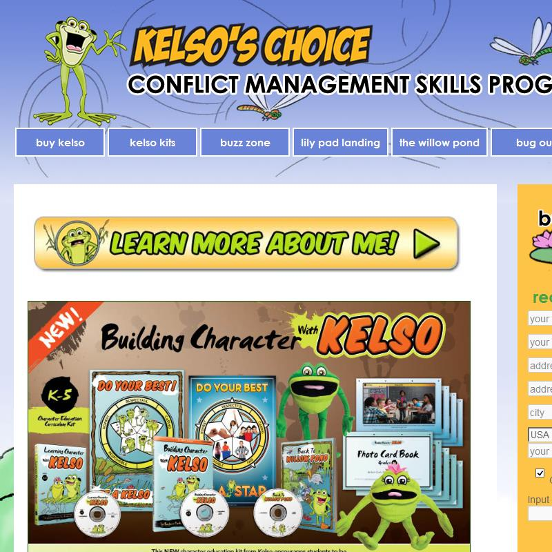 Kelso's Choice —Conflict Management Skills Program