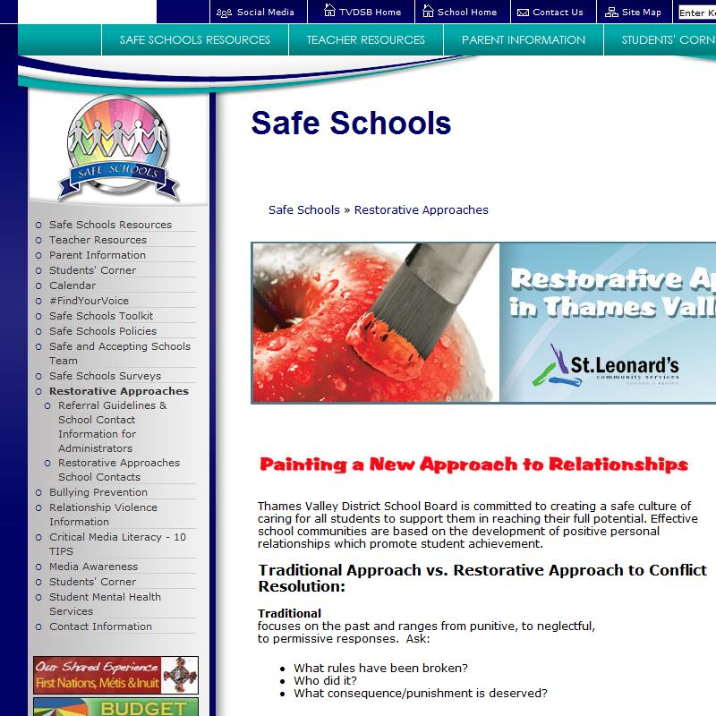 Restorative Approaches Overview